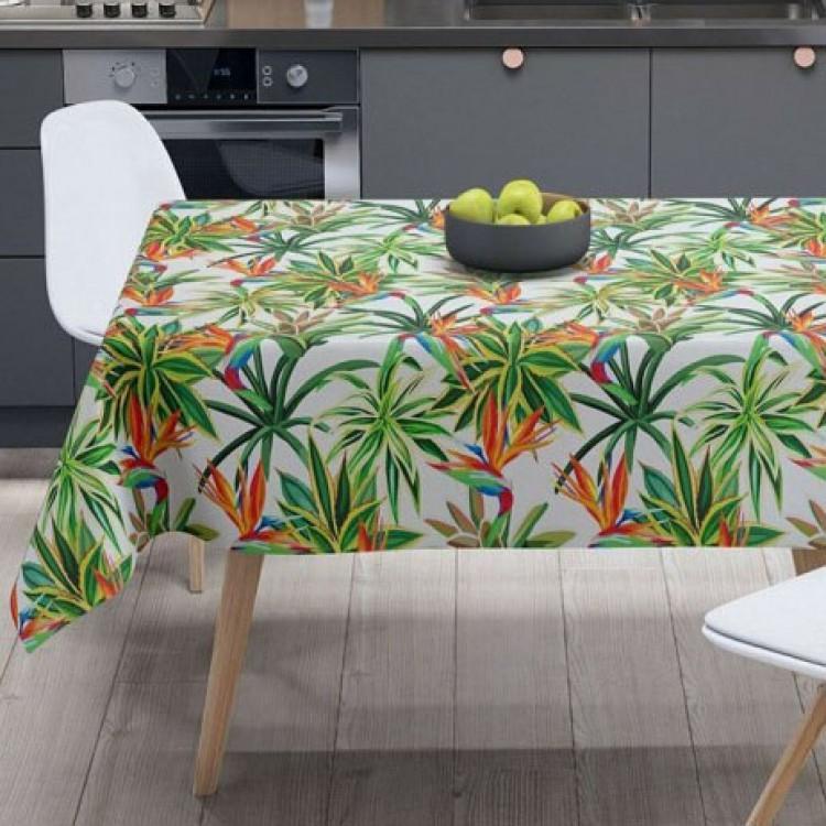 Tropikal Desen Masa Örtüsü