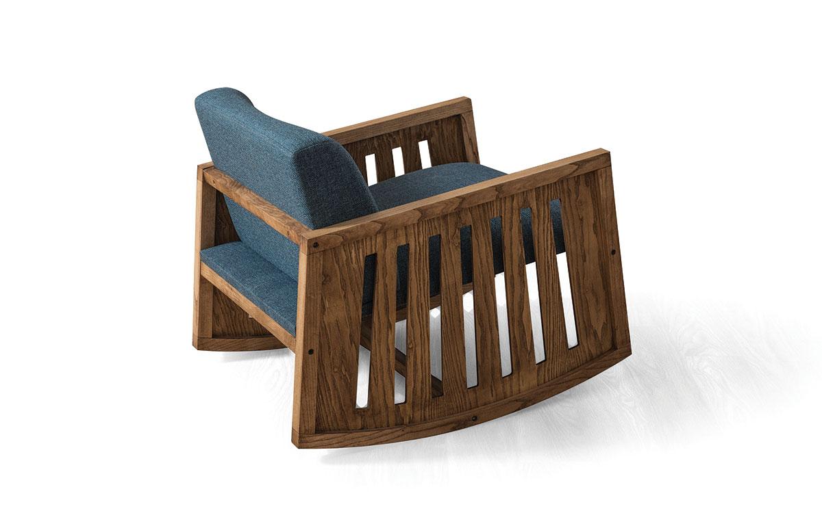 Berra Blue Sandalye